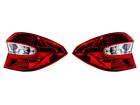 Par de Lanternas Traseira Ford Ka Sedan 2015 à 2018 Completa Lado Direito e Esquerdo Cristal - Original Ford