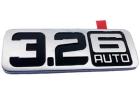 Emblema decalque 3.2 6 Auto da grade do paralama Limited XLT Ford Ranger 13/..