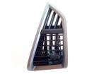 Difusor de Ar do Painel EcoSport 2013 Titanium completo Com Anel Lado Esquerdo Prata Brilhante/Sunset Silver