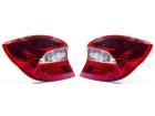 Par de Lanternas Traseiras para Ka Hatch 2018 à 2019 LD/LE Lente Cristal - Original Ford